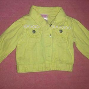 Toddler girl size 18m daisy jacket